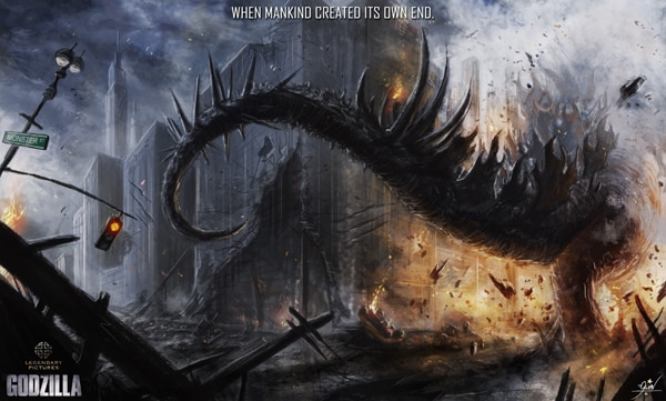 Absolutely Incredible Godzilla 2014 Fan Art