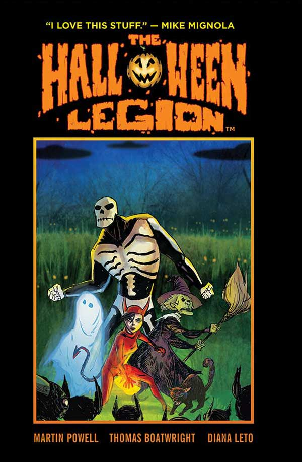 Dark Horse and Sequential Pulp Comics Announce The Halloween Legion Graphic Novel