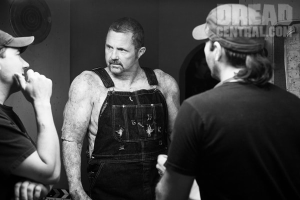 Hatchet III Exclusive: Never Before Seen Images of Kane Hodder Becoming Victor Crowley; Adam Green Speaks! Boston Fundraiser in the Works! (click for larger image)
