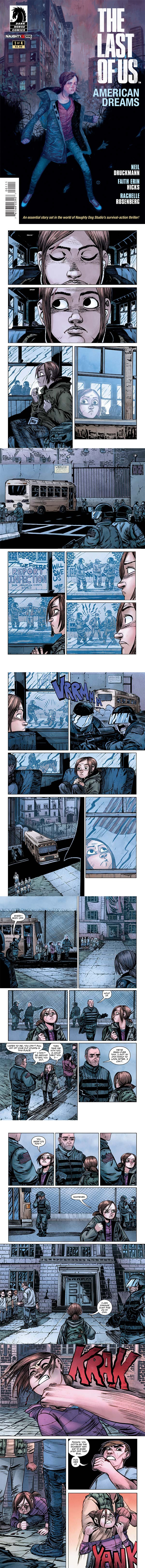 Special Preview of The Last of Us: American Dreams #1 Comic