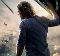 Brad Pitt Surveys the Damage on New World War Z Poster