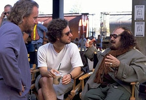 Karaszweski & Alexander on the set of Screwed w/Danny DeVito