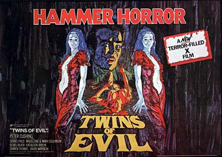 THE KARNSTEIN TRILOGY NO 3:TWINS OF EVIL [1971] [HCF REWIND]