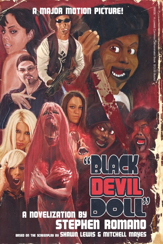 Black Devil Doll Novels Now On Sale