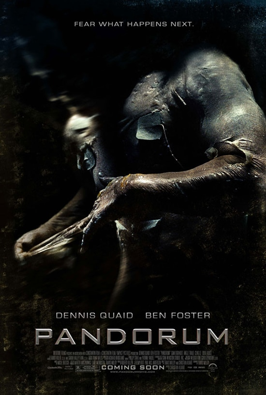 Final Pandorum One-Sheet Delivers the Creeps