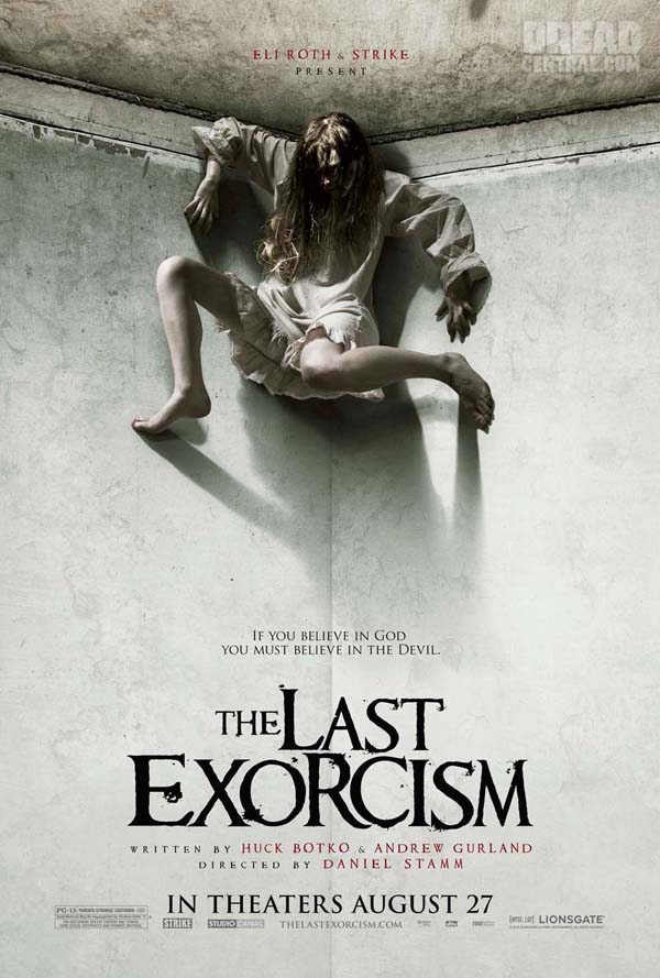 Exclusive Twisted One-Sheet Debut - The Last Exorcism (click for larger image)