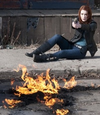 Felicia Day in Syfy's Red: Werewolf Hunter