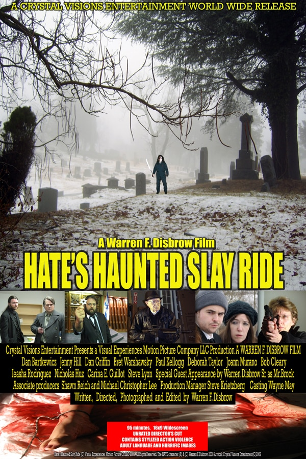 Indie Filmmakers to Watch: Warren Disbrow Talks Hate's Haunted Slay Ride