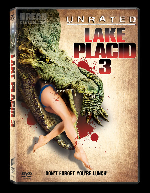 Exclusive DVD Art and Details: Lake Placid 3