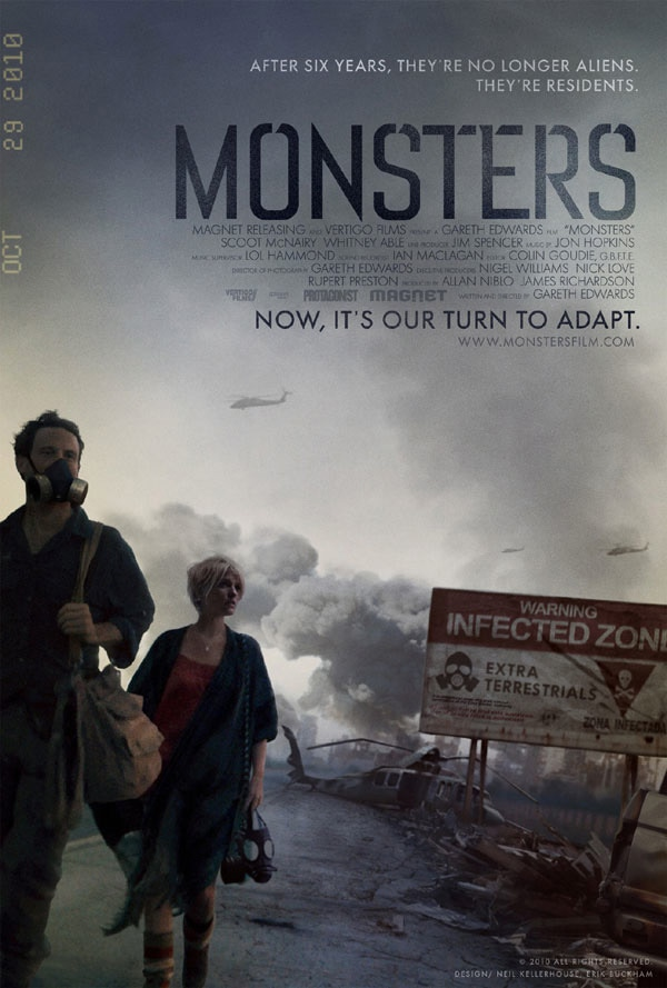 Exclusive: Director Gareth Edwards Talks Monsters