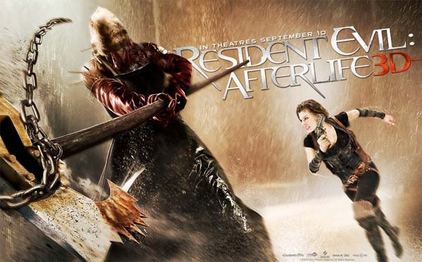Six New Bits of Resident Evil: Afterlife Art