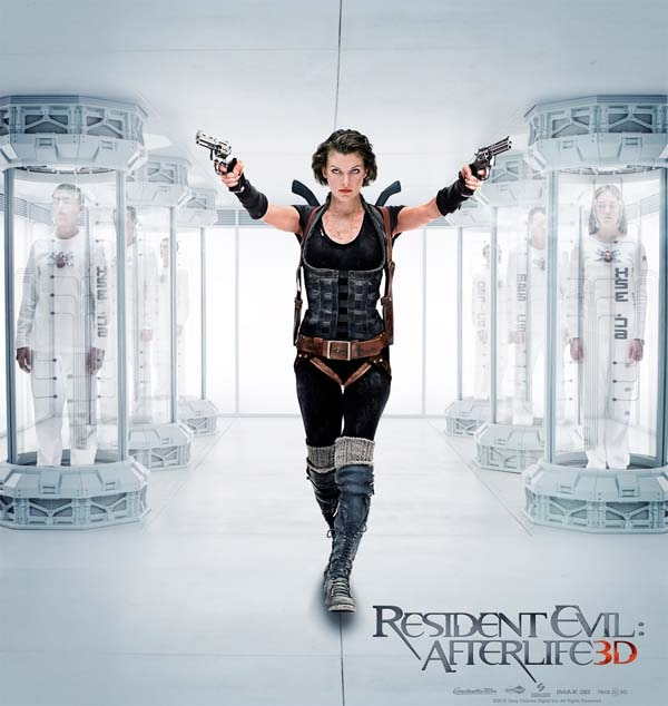 Second Resident Evil: Afterlife Clip FINALLY brings Some Zombie Action