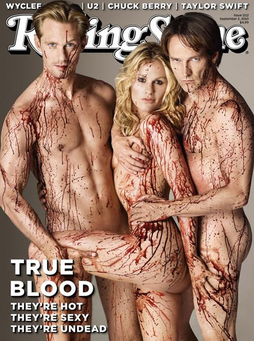True Blood Stars Get Bloody for Rolling Stone