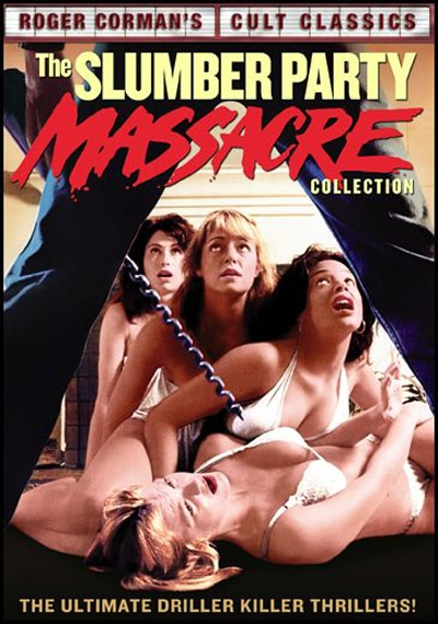 More Corman Classics Come Home: Full Specs on Slumber Party Massacre Collection and The Evil / Twice Dead Double Feature Disc