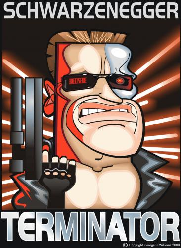The Terminator Saga Continues as a PG-13 Rated Animated Feature - Terminator 3000
