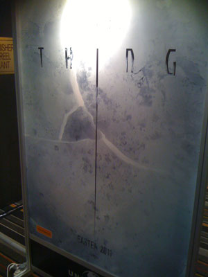 Crack Open a Teaser Poster for The Thing Prequel