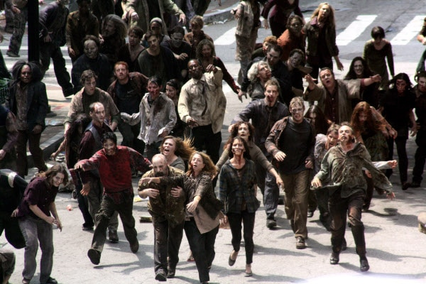 The Walking Dead Set Visit Part II: Zombies invade the ATL