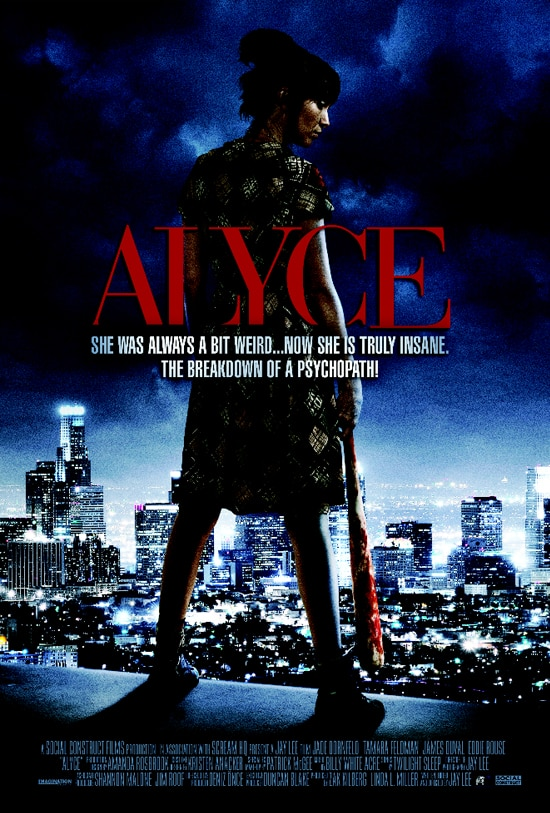 Alyce Gets Herself a New Trailer and One-Sheet