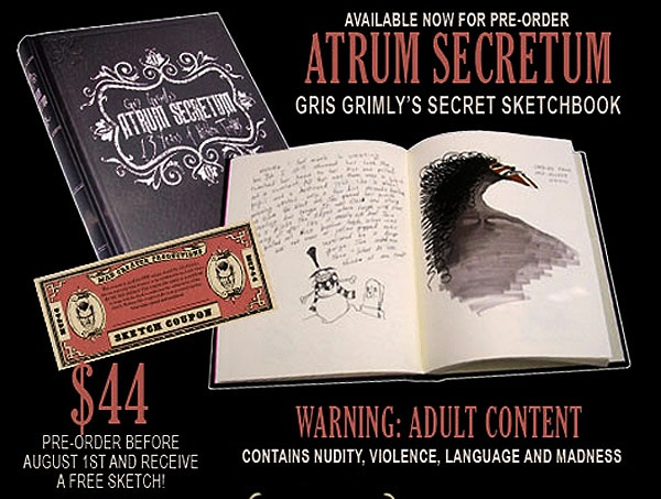 Atrum Secretum: Spend Some Time in the Twisted Mind of Gris Grimly