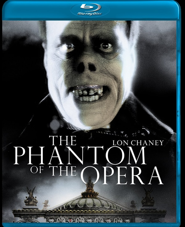 Image Bringing the Original Phantom of the Opera to Blu-ray