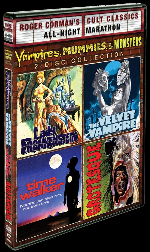 Shout! Factory Releasing a Quadruple Feature of Roger Corman Madness!