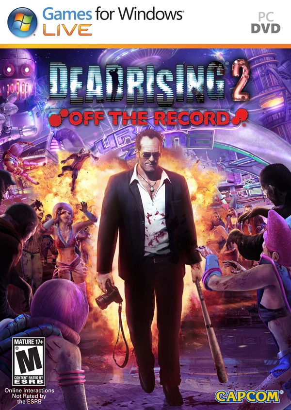 Dawn of the Dead Rising 2: Off the Record Cover Art