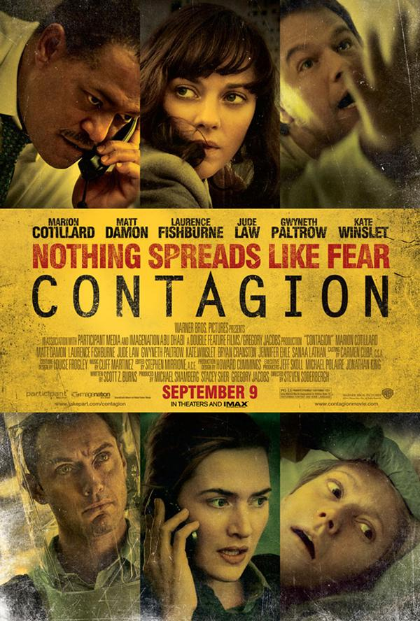New Contagion One-Sheet Spreads Across the Net