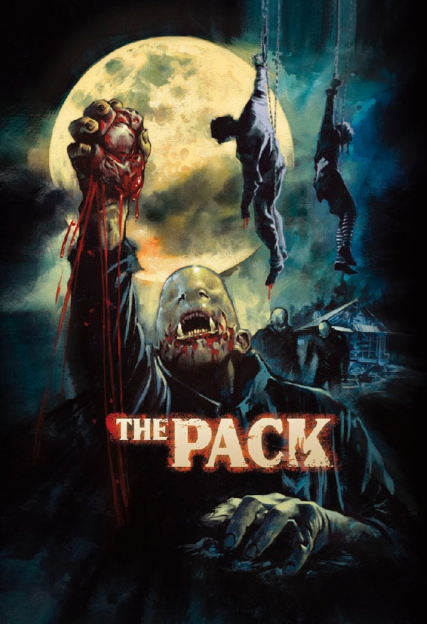 The Pack (La Meute)'s UK DVD Trailer, Sleeve Art, and a Clip