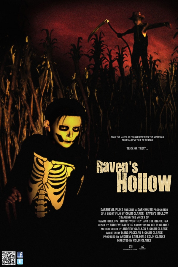 Check Out Animated Short Raven's Hollow For Free Right Here!