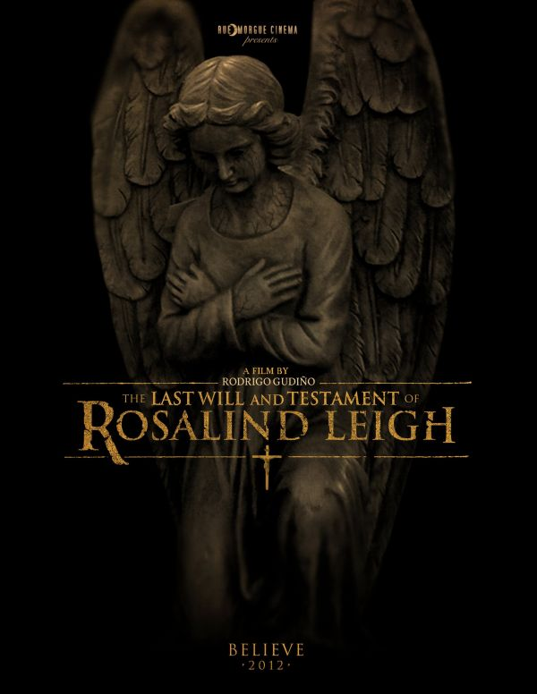 Teaser Poster Debut: The Last Will And Testament of Rosalind Leigh