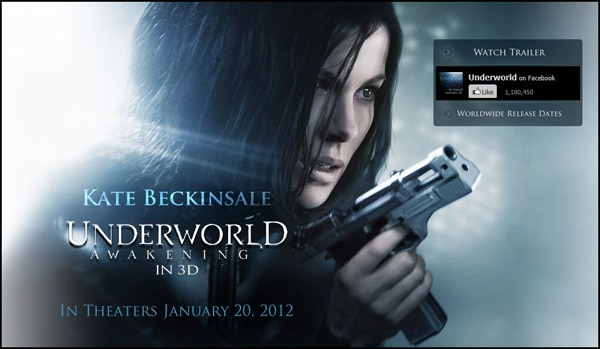 Underworld: Awakening Website Opens Doors