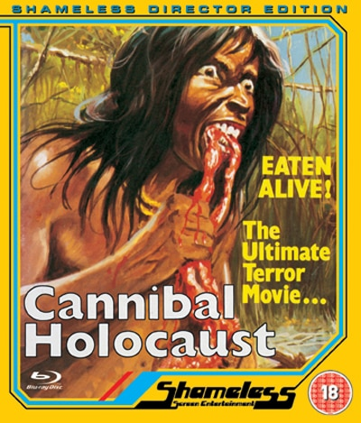 Cannibal Holocaust Assaults UK Blu-ray in New Director's Edit w/Less Animal Death!