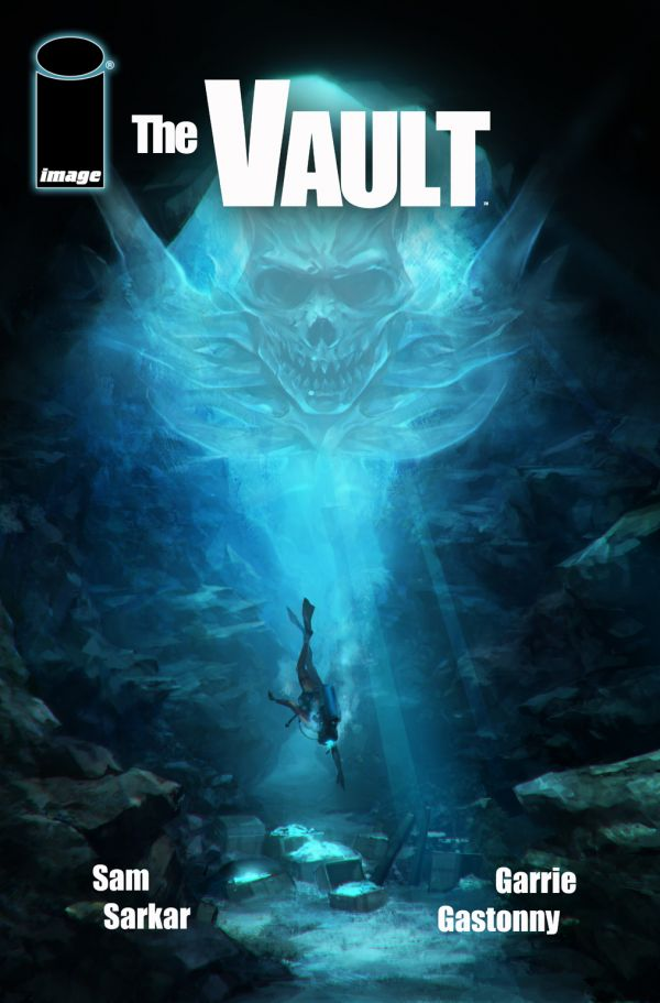 Johnny Depp Goes Diving for The Vault