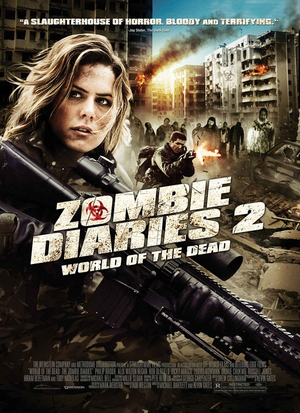 Official US One-Sheet and Trailer: Zombie Diaries 2: World of the Dead