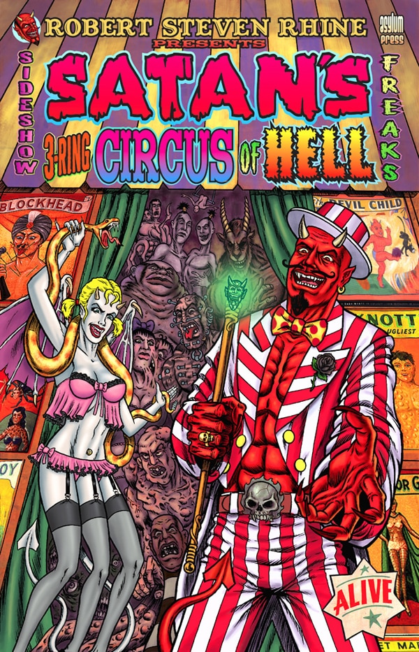 Robert Steven Rhine's Satan's 3-Ring Circus of Hell Getting a Re-Release