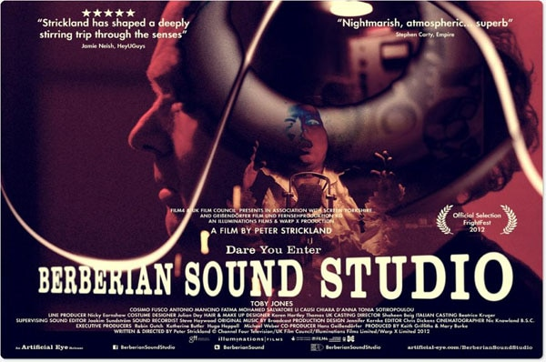 TIFF 2012: Bitchin' Quad Posters for Berberian Sound Studio