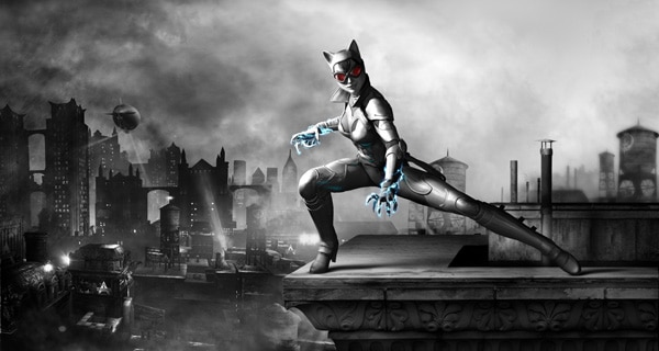 Catwoman Render Revealed for Batman: Arkham City Armored Edition