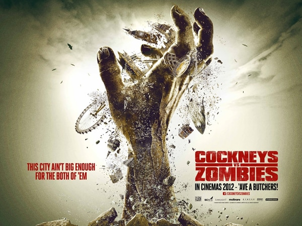 Fantastic Fest 2012: Cockneys vs. Zombies Quad One-Sheet Rises