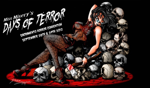 Miss Misery's Days of Terror to Invade Sacramento September 28th and 29th