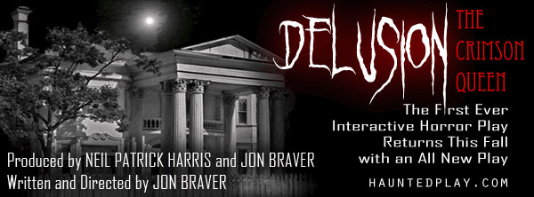 Neil Patrick Harris Celebrates Halloween with Delusion: The Crimson Queen; Auditions Under Way