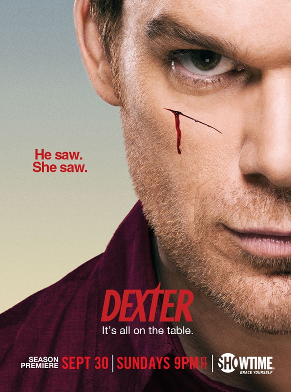 New Dexter Season 7 Promo Poster