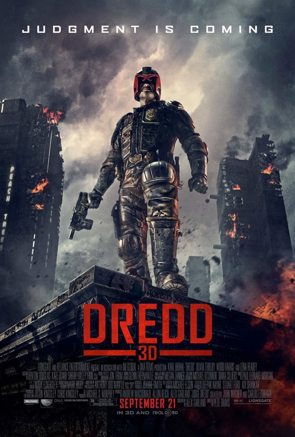 New Dredd Poster Promises Judgment!