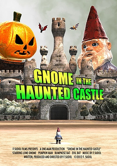 One Little Guy Against the Forces of Evil... See the Trailer for Gnome in the Haunted Castle