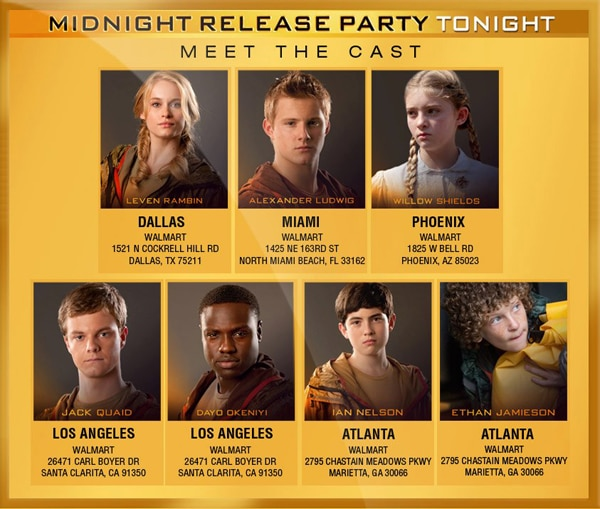 The Hunger Games on Home Video: Which Cast Members Are Attending Midnight Sales? Check Out the iTunes Interactive Trailer