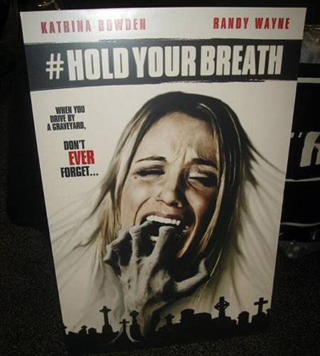#HoldYourBreath Artwork Appears; Plus More Asylum Madness to Come