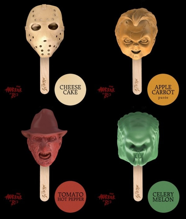 Suck on Your Favorite Horror Stars! Jason! Freddy! Chucky! Pinhead! The Predator!