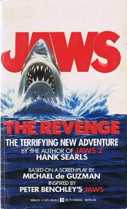 Saturday Nightmares: Jaws The Revenge; novelization