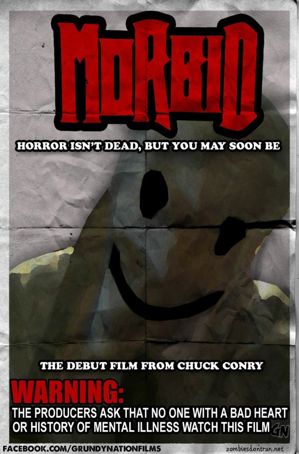 Blog This! Horrific Chuck Conry Gets Morbid!