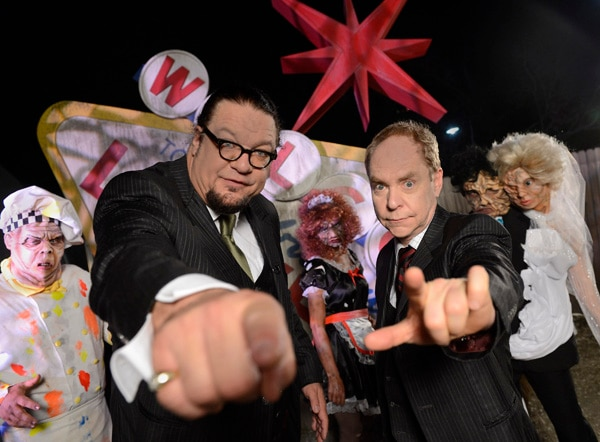 Penn & Teller Invade Universal Orlando's Halloween Horror Nights in Radioactive 3D