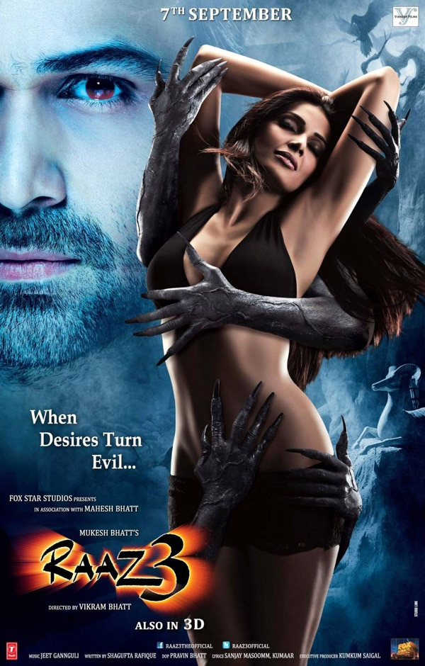 Check Out a Brand New Trailer and Poster for India's Raaz 3